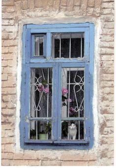 Old Russian House Window