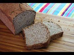 Pan sin gluten de trigo sarraceno con arroz - YouTube Levado nevera