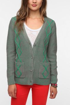 Coincidence & Chance Cable Plated Cardigan