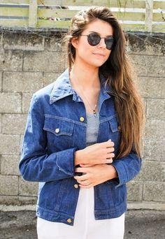 743a8f8f Vintage 70s Blue Denim Jacket Vintage 70s, Jackets For Women, Blue Denim,  Vest
