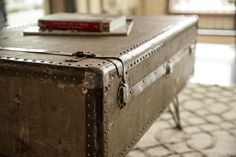 Upcycled Suitcase Coffee Table