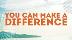 Everyone wants to make a difference-to do something great and significant with their lives. Unfortunately, most of us don't do the great things God has created us to do. This message explores four common hurdles to making a difference: self-hate, apathy, anger, and pride and encouraged your students to take the ESSENTIAL FIRST STEP EVERYONE MUST TAKE IF THEY WANT TO MAKE A DIFFERENCE. This message is taught from the following scriptures: Matthew 5:14-16, John 14:11-12, and Colossians 2:8