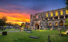 The Stunning Malmesbury Abbey, Wiltshire.  Located only 20 minutes from the Cotswold Water Park an believed to be the oldest Borough in England.