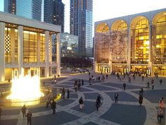 Lincoln Centre New York City NYC