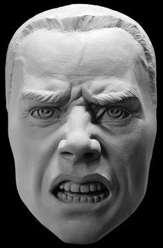 Expression of Rage Sculpting Reference Cast