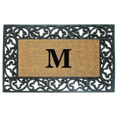 41 Personalized Your Monogrammed Doormat For Indoor And Outdoor Use 4