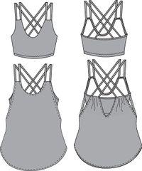 Pneuma Tank by Papercut Patterns   $17 for a PDF pattern; $25 for a retail printed pattern   #sewing #pattern