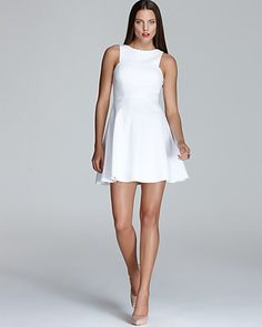 4.collective Dress - Sleeveless Flirty Ponte   Bloomingdales $325 and 20% off