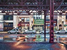 NYC. Central Camera, oil on linen, 2012 // Nathan Walsh, Contemporary British Realist Painter