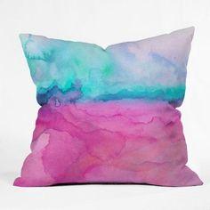 Jacqueline Maldonado Water Color Throw Pillow - 13871-THRPI10
