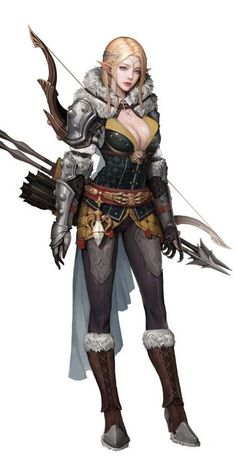 Trendy concept art fantasy warrior elves Ideas - Sites new Female Character Concept, Fantasy Character Design, Character Design Inspiration, Character Art, Elf Warrior, Fantasy Female Warrior, Fantasy Armor, Elves Fantasy, Elfa