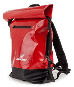 Adamant - X-Core #Waterproof Dry Bag #Backpack, Red - Two side #durable clip closures