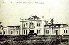 Quartel do Comando da 5ª Região Militar, 1886, hoje Shopping Curitiba. Old Photos, 1, Mansions, Architecture, House Styles, Places, Nostalgia, Vintage, Old Photographs