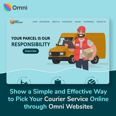 Create a FREE website with Omni Websites. No design or coding skills required. Set up your own Customizable and Responsive Ecommerce business website. Business Website, Online Business, International Courier Services, Cargo Services, Business Operations, Ecommerce Store, Free Website, Website Template, Track