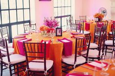 Pink and Orange Seating Ideas