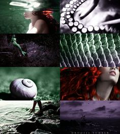 """Third in a series of photo collages inspired by Disney girls: Ariel from """"The Little Mermaid"""". Disney Dream, Disney Love, Disney Magic, Disney Art, Disney Collage, Disney And Dreamworks, Disney Pixar, Walt Disney, Disney Bound"""