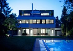 pedit & partner architekten Style At Home, Partner, Exterior, Mansions, House Styles, Home Decor, Architects, Projects, House