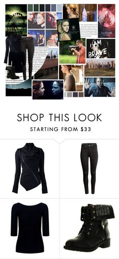 """""""Beatrice """"Tris"""" Prior"""" by ekaterina33-01 ❤ liked on Polyvore featuring Balmain, Seed Design, H&M, Theory and Refresh"""