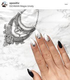 Black nails ideas   allthestufficareabout.com black Nail Designs, black nails, acrylic nails, coffin nails, square nails, nail design, simple matte nail design, glitter nails, shellac nail, nail polish, color nail design, glitter nail design, classy nails, almond nails, round nails, short nails, long nails, nail art, nail ideas, long nails, Opi nails, silver nails, elegant nail art, sparkly nail almond black nails with glitter