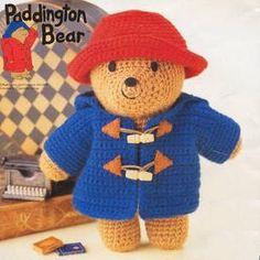 Items similar to amigurumi pattern crochet paddington bear pdf pattern on Etsy Crochet Diy, Crochet Bear, Crochet Patterns Amigurumi, Crochet For Kids, Crochet Dolls, Crochet Hats, Crochet Animals, Paddington Bear, Star Wars Crochet