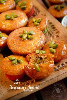 Fabi´s Culinariyumm: Veiled Arabian Nights Muffins / Verschleierte 1001 Nacht-Muffins