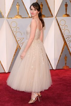 a0eef2775637a9 Golden gowns and stand-out style  A-list fashion from the 2017 Oscars red  carpet