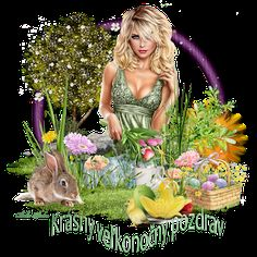 Happy Easter, Tinkerbell, Disney Characters, Fictional Characters, Disney Princess, Art, Happy Easter Day, Kunst, Fantasy Characters