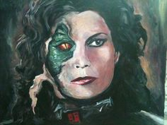 """Artwork from V The Original Miniseries  """"Another Pass pt. 2"""" by Beatrice Tozzi --- feat. Jane Badler as Diana"""