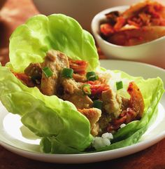 CanolaInfo | Recipes & Cooking | Marinated Ginger Chicken Wrap | A healthy version of a restaurant favorite! |
