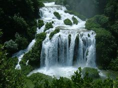 Marmore's Falls in Italy