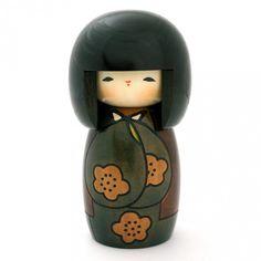 poupée japonaise kokeshi en bois KOJITSU 20