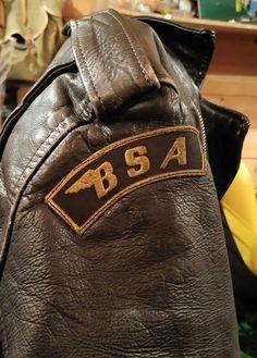BSA leather jacket