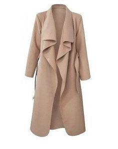 Crawford Drape Overcoat - Camel – NewAgeRebel.com