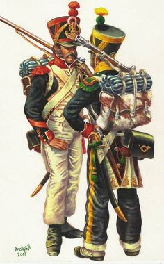French Line Infantry Painting Tutorial Part One - The Base Colours