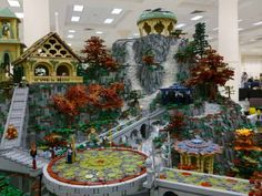 lego rivendell!  Awesome!