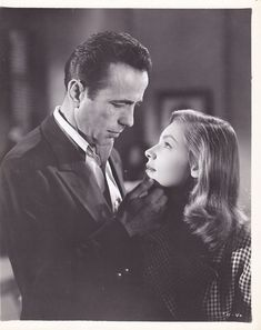 Bogart and Bacall in a publicity still for To Have and Have Not Old Hollywood Stars, Hollywood Actor, Vintage Hollywood, Classic Hollywood, I Look To You, Bogie And Bacall, Ford, Old Movie Stars, Cinema