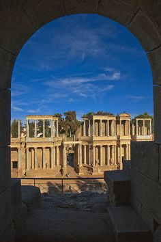 Mérida. Roman Theatre. Badajoz. Extremadura. Spain   Flickr