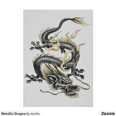 #Metallic #Dragon #Card #customproducts TRANSFER THIS IMAGE to   #Accessories  #Art  #Posters  #Cards  #Postage  #Clothing  #CraftSupplies  #Electronics  #HomeDecor #OfficeProducts  #UKHashtags #Bizitalk #ATSocialMedia https://www.zazzle.com/z/olz1h?rf=238616195033801520 via @zazzle
