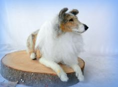 needle felted Rough Collie | by adore62