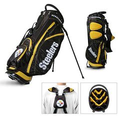 NFL Pittsburgh Steelers Fairway Stand Bag by Team Golf. Buy now @ ReadyGolf.com