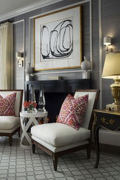 25 Genius Ways to Design Your Small Living Room!, Laurel & Wolf, Transitional Living Room   Laurel & Wolf