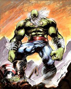 #Hulk #Fan #Art.( Maestro Hulk) By: Yildiray Cinar. (THE * 5 * STÅR * ÅWARD * OF: * AW YEAH, IT'S MAJOR ÅWESOMENESS!!!™)........