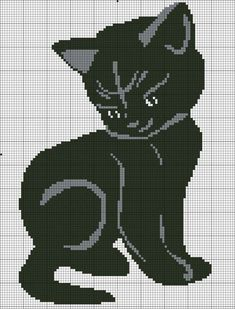 VK is the largest European social network with more than 100 million active users. Cat Cross Stitches, Cross Stitch Charts, Cross Stitching, Cross Stitch Patterns, Cat Embroidery, Cross Stitch Embroidery, Embroidery Patterns, Crochet Cat Pattern, Crochet Chart