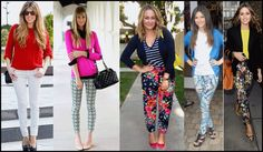 How to wear printed pants - Prints & Sweaters