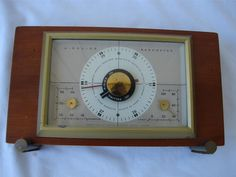 vintage art deco airguide weather station barometer thermometer and rh pinterest com airguide instrument company airguide instrument company chicago