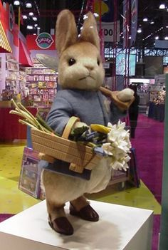 Peter Rabbit, love the expression on his face.
