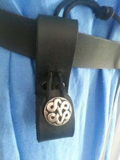 Leather Classic Belt Loop Dagger Holder for Stage Re-enactment /& LARP Costume