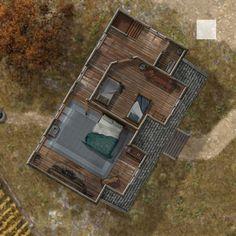 Hambley House Second Floor (day) by hero339 on DeviantArt