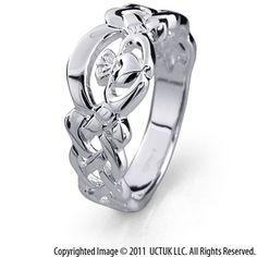 Unique Claddagh ring