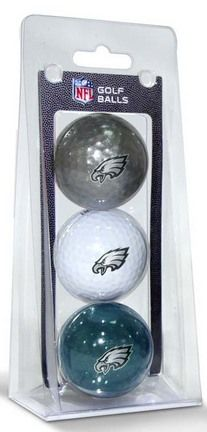 Philadelphia Eagles Golf Ball Pack: Pack includes three multi-colored NFL golf balls with… #SportingGoods #SportsJerseys #SportsEquipment
